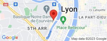 Carte Jack Holt Vieux Lyon - Petit Paumé