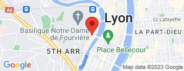Carte EMILIEN & CORALIE (Lyon 5) - Petit Paumé