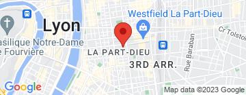 Carte Côté Part Dieu - Petit Paumé
