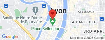 Carte La Scène Brasserie - Petit Paumé