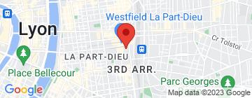 Carte Hippopotamus Part-Dieu - Petit Paumé