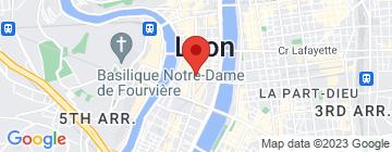 Carte Mercure Lyon Centre Beaux-Arts - Petit Paumé