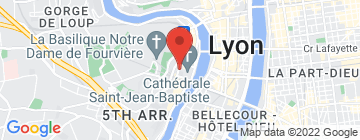 Carte MJC VIEUX LYON - Petit Paumé