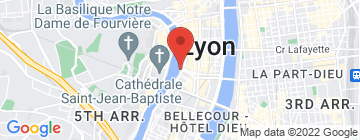 Carte Les Bateaux Lyonnais - Croisières promenades - Petit Paumé