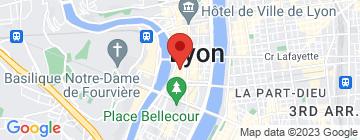 Carte L'Épicerie - Lyon 2 - Petit Paumé