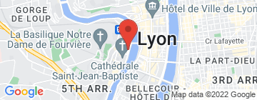 Carte Lyon Bike Tour - Petit Paumé