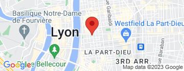 Carte Théâtre Tête d'or - Petit Paumé