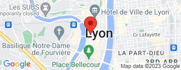 Carte Institut de la Presqu'île - Guinot - Petit Paumé