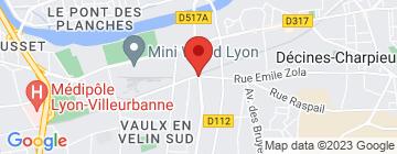 Carte Kiloutou Vaulx-en-Velin - Petit Paumé