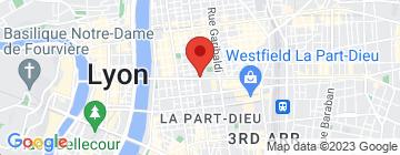 Carte Les Sandalines Institut - Petit Paumé