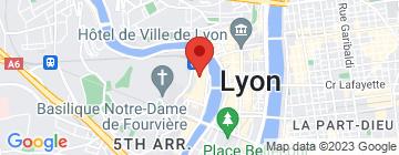 Carte Les Ardoises de Lyon - Petit Paumé