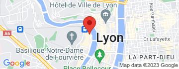 Carte Les BerThoM (Vieux Lyon) - Petit Paumé