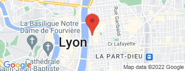 Carte ESC Lyon 6 - Petit Paumé