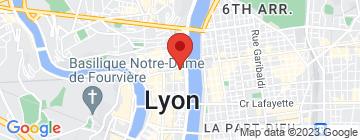 Carte Les bains de l'opéra - Petit Paumé