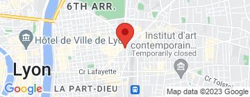 Carte L'institut The beauty bar - Petit Paumé