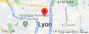 Carte Ballet de l'Opéra de Lyon - Biennale de la Danse - Petit Paumé