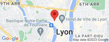 Carte Halles de la Martinière - Petit Paumé
