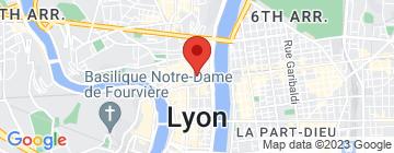 Carte Le Jardin de l'Opéra  - Petit Paumé