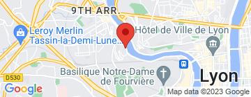 Carte Conservatoire National Supérieur Musique et Danse de Lyon (CNSMD) - Petit Paumé