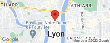 Carte Thai Paradis Lyon - Petit Paumé