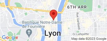 Carte Wing Tsun Kung Fu Lyon - Petit Paumé