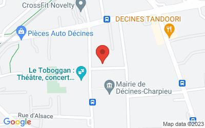 3 Place Roger Salengro, 69150 Décines, Rhone-Alpes, France