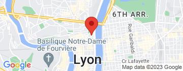 Carte Académie de Ballet Nini Theilade - Petit Paumé