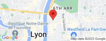 Carte Hôtel Foch - Petit Paumé