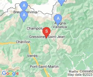 Karte für Monterosa