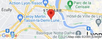 Carte ESTA School of Business and Technology - Petit Paumé
