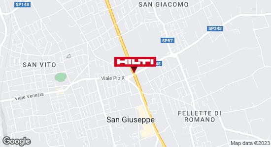 Get directions to Hilti Store BASSANO DEL GRAPPA - Romano d'Ezzellino