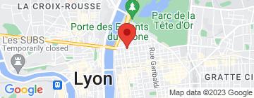 Carte Pignol Lyon 6 - Petit Paumé