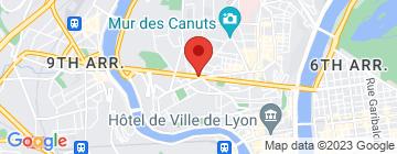 Carte Marché produits manufacturés Croix-Rousse - Petit Paumé