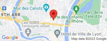 Carte Marché petite place de la Croix-Rousse - Petit Paumé