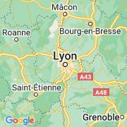 Le thème Lyon sur notre carte histoire-géo