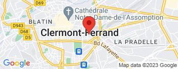 Carte CEAD Université Clermont Auvergne - Petit Paumé