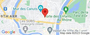 Carte Daniel et Denise (Croix-Rousse) - Petit Paumé