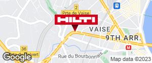 Espace Hilti - La Plateforme du Bâtiment - Lyon Vaise