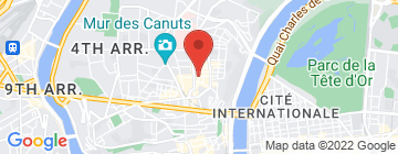 Carte L'Herboristerie de Lyon - Petit Paumé