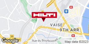 Get directions to Espace Hilti - La Plateforme du Bâtiment - Lyon Vaise