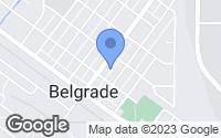Map of Belgrade, MT