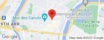 Carte Lyon Vélo Electrique - Petit Paumé