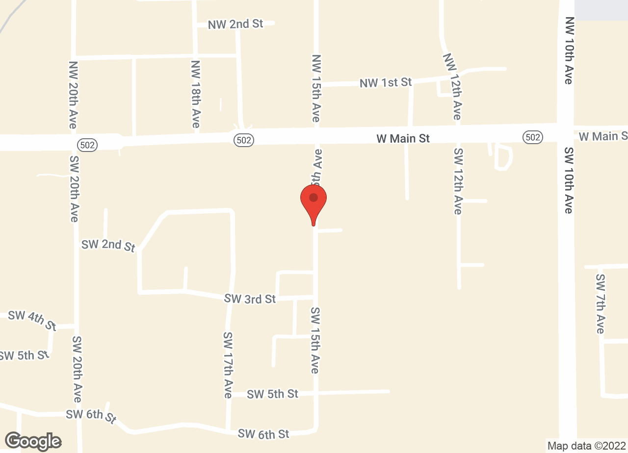 Google Map of VCA Battle Ground Animal Hospital