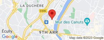 Carte Lyon Boxe - Petit Paumé