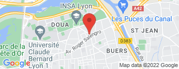 Carte Marché place Croix-Luizet - Petit Paumé