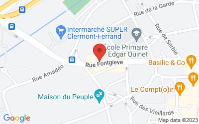 62 Rue Fontgieve, 63000 Clermont-Ferrand, France