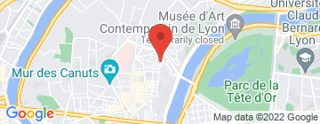 Carte Judo club Croix-Roussien - Petit Paumé