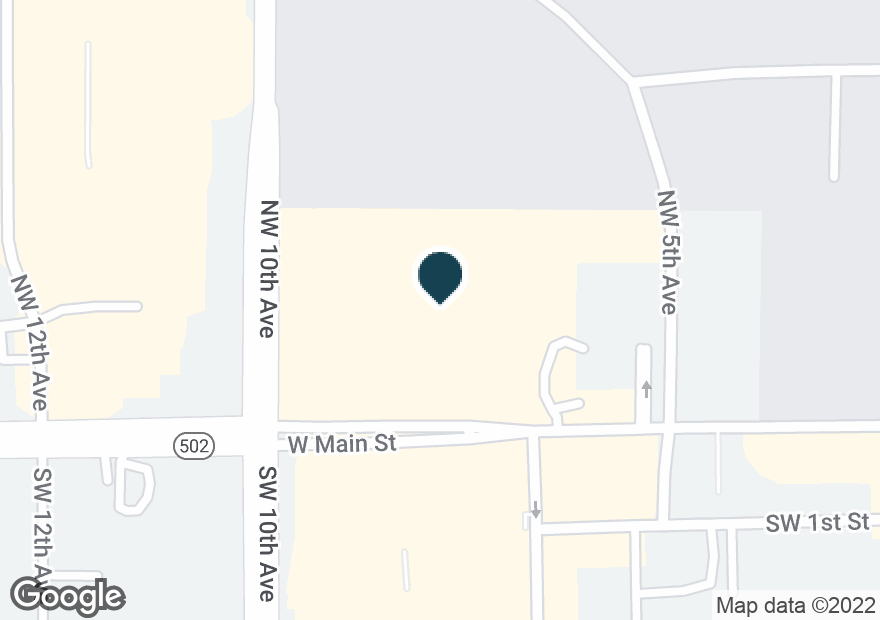 Google Map of808 W MAIN ST