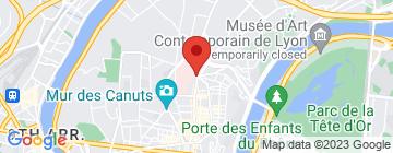 Carte Coix-Rousse immobilier - Petit Paumé