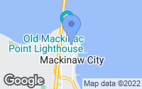 Map of Mackinaw City, MI